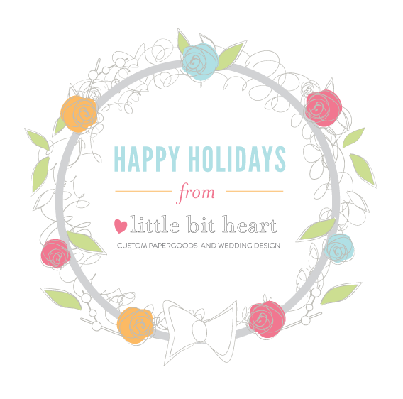 happy holidays from little bit heart!