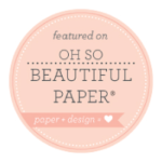 little bit heart - featured - oh so beautiful paper