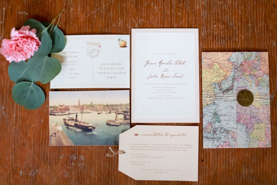 old world travel wedding inspiration shoot // photography: sarah goodwin, florals+coordination: haley tobias, paper: little bit heart