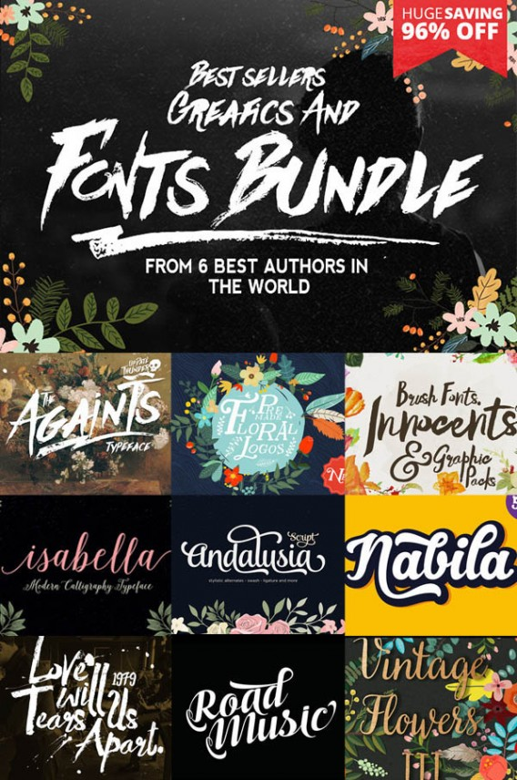 fancy deal font bundle